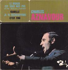 Charles Aznavour-Le monde Est Sous Nos Pas vinyl single EP