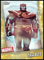 Topps MARVEL Collect DIGITAL Card | Thanos | Gold Short Print Tier 8 Award