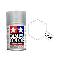 Tamiya COLORE SPRAY TRASPARENTE OPACO per plastica-metal bomboletta TS-80 100ml