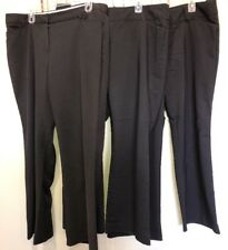 Mixed Lot Black Stretch Dress Pants Slacks Women's 16