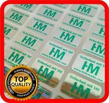 Your green print on 4000 hologram labels void warranty tamper seal 14x9mm