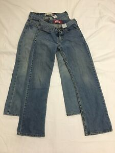 Boy's Jeans Size 12 Reg Levi 514 Slim Straight