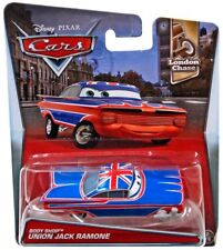 Disney Cars London Chase Body Shop Union Jack Ramone Diecast Car #2/11
