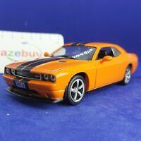 Dodge Challenger SRT8 Orange 2008 Year 1/43 Scale RARE Collectible Model Car
