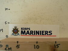 STICKER,DECAL KORPS MARINIERS AA
