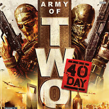 ARMY OF TWO: THE 40TH DAY Microsoft XBox 360 Game