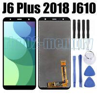 Pour Samsung Galaxy J6 Plus 2018 SM-J610F J610 Écran LCD Écran Tactile Noir RHN