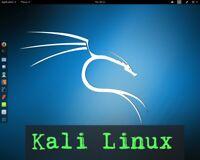 Kali Linux 2019.2 64-bit Live/Install 16 GB USB Flash Drive Penetration Testing+