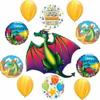 Mystical Dragon Birthday Party Supplies Balloon Bouquet Decorations