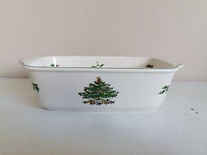 "Spode ""Christmas Tree"" Loaf Dish"