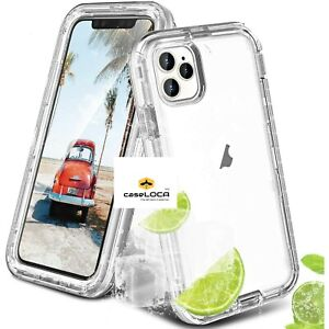 iPhone 13 12 Pro Max 7 8 11 Plus XS XR X Hard Shockproof Case Rugged Hard Cover
