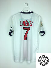 Psg menez #7 13/14 away football shirt (m) soccer jersey nike