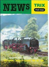 Trix News Profi-Club 02/2002 Magazine Nederlands