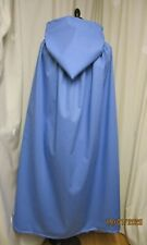 CHILD'S/KIDS PALE BLUE HOODED CAPE CLOAK - UK MADE