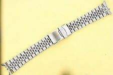 SEIKO JUBILEE BRACELET 22mm 6309, 7002, 7S26, 7548 DIVE WATCH SOLID LINKS NR#116
