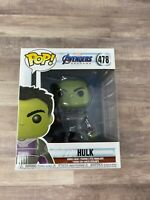 """Funko Pop! Marvel: Avengers Endgame - 6"""" Hulk with Gauntlet #478 Vinyl Figure E3"""