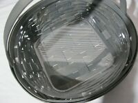 LONGABERGER Basket 2019 PEWTER Gray PIE Round QVC with PROTECTOR SOLD OUT  NEW