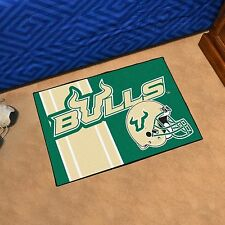 "South Florida Bulls Uniform Inspired 19"" X 30"" Starter Area Rug Mat"