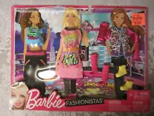 Barbie FASHIONISTAS Fashions 3 Pack Clothing 2011 Mattel