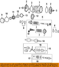 GM OEM Rear Axle-Seal 89047953