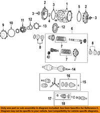 GM OEM Rear Axle-Seal 89047953