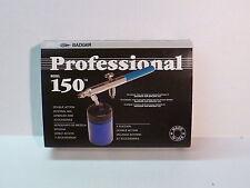 Badger Professional Model 150-7 Set Full Airbrush Kit New Double Action