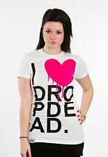 Drop Dead - I Heart T-Shirt - Girls Medium