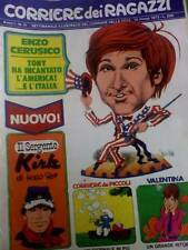 Il Corriere dei Ragazzi 11 1972 Jackie Stewart TOPPI
