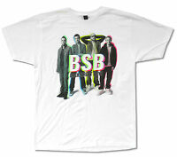 Backstreet Boys Color Shadow Portrait White T Shirt New Official Adult BSB