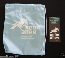 SDCC Comic Con 2012 EXCLUSIVE Neon Alley Drawstring bag ANIME MAGNA SHONEN JUMP