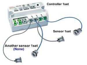 Auto Door Side Sensor AUTONICS ADS-SE Transmitted beam 12-24VAC/VDC Sensor 1set