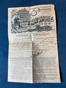 Vintage Authentisch Patek Phillipe Garantie Zertifikat