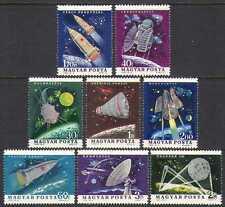 UNGHERIA 1964 spazio/razzi/Pianeti/Radio/Telstar/Vostok/trasporto 8 V Set n24051