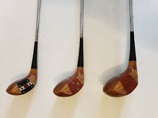 VINTAGE Tony Penna MacGregor 1, 3, and 5 Golf Club Woods Set