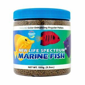 New Life Spectrum Naturox Marine Fish Sinking Pellets - 1 - 1.5 mm - 150 g
