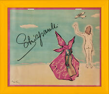 """""""Shocking 'Elsa' Schiaparelli 1966 Place Vendome Calendar by Vertes"""""""