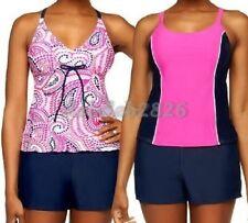 Ocean Dream Signature 3 Piece Tankini Set with Swim Shorts SIZE 8