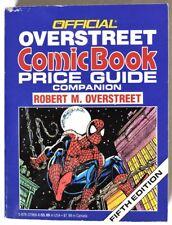 ESA1013. OVERSTREET Comic Book Price Guide Companion 5th Edition SIGNED COPY 199