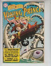 Brave and Bold 24 VG (4.0) 7/59 1st Viking Prince by Joe Kubert!