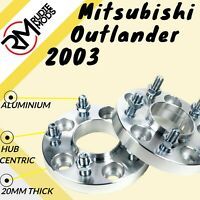 Mitsubishi Outlander 2003+ 20mm Hubcentric wheel spacers 1 pair UK MADE