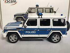 iScale 118000000005 Mercedes-Benz G Class W463 2015 Bundes Polizei 1:18