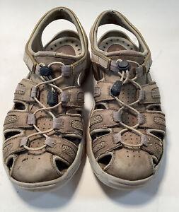 Rivo Leather Sandals Men's Size 8.5 M