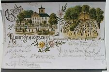 27942 Repro Foto einer Litho AK Radebeul Oberlössnitz Albert-Schlösschen