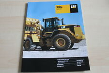 126764) Caterpillar Cat 938G Radlader Prospekt 03/2001