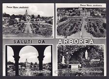 ORISTANO ARBOREA 04 SALUTI da... VEDUTINE Cartolina FOTOGRAFICA viaggiata 1968