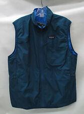 Patagonia Mens Reversible Crankset Vest 27820 Big Sur Blue Size Medium
