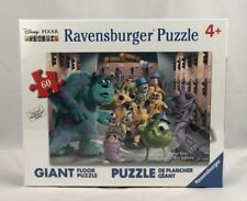 Ravensburger Disney Pixar Monster's inc The Whole Gang Floor Puzzle 60 Piece New
