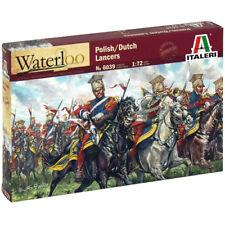 ITALERI Waterloo Polish Dutch Lancers 6039 1:72 Figures Model Kit