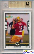 2005 Score #352 Aaron Rodgers Rookie BGS 9.5 GEM MINT Packers Super Bowl MVP!