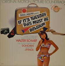 "ORIENTE - SOUNDTRACK - IF ITS MARTES THIS MUST BE BÉLGICA - SCHARF 12"" LP (M967)"